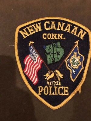 New Canaan Connecticut CT Police Patch