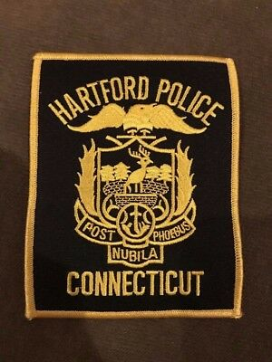 Hartford CT Connecticut Police Patch