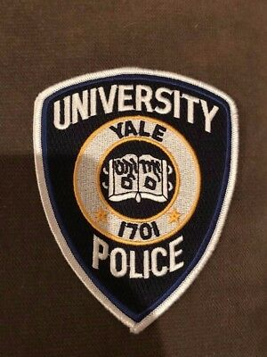 Yale University Connecticut CT Police Patch College Campus