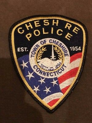 Cheshire CT Connecticut Police Patch ERROR