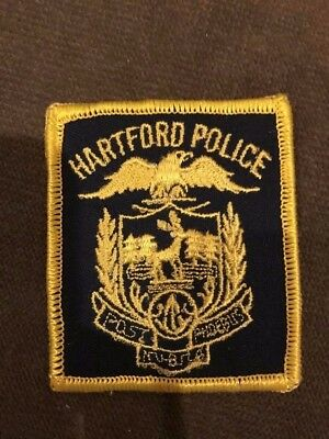 Hartford CT Connecticut Police Mini patch hat
