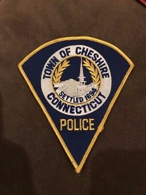 Cheshire Connecticut Police Patch CT