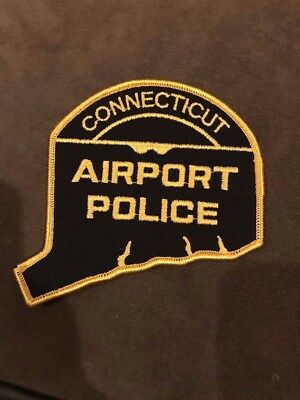 Connecticut CT Airport Police Patch
