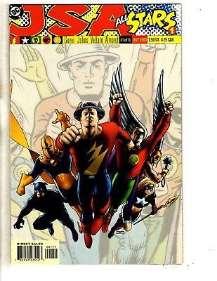 Lot Of 8 JSA All Stars DC Comic Books # 1 2 3 4 5 6 7 8 Justice Society CR19