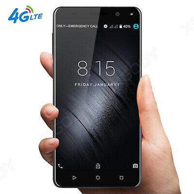 13MP 16GB 4G LTE Unlocked Android 7.0 Smartphone Dual SIM 4Core Cell Phone 5.5""