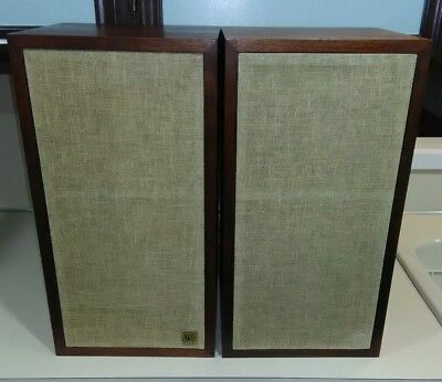 Acoustic Research Ar4X Speakers , Very Good Condition, Oiled Walnut