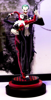 DC Collectibles Joker Harley Quinn Mad Love Statue Alex Ross 1st Edition