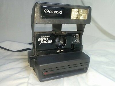 Polaroid One Step 600 Instant Film Camera Tested And Working Auto Focus Vintage