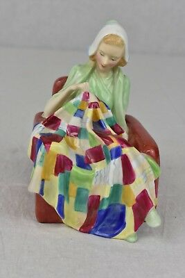 """Royal Doulton """"The Patchwork Quilt"""" H.N. 842490 Rare"""