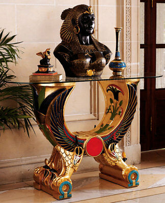 Egyptian Altar Furniture Console after Tomb of Pharaoh Tutankhamun replica 51""