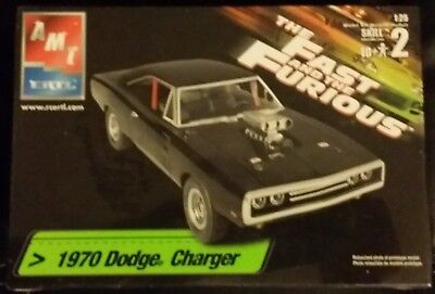 AMT/Ertl #38033 1970 Dodge Charger 1/25 Fast and Furooius Factory Sealed
