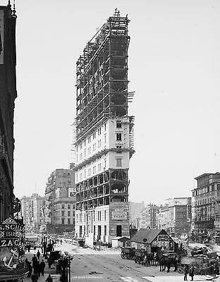 "FLATIRON BUILDING PHOTO 18 x 24"" New York City Fuller Building 1900s"