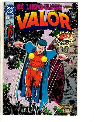 Lot Of 10 Valor DC Comic Books # 1 2 3 4 5 6 7 8 9 10 Batman Superman Flash CR19