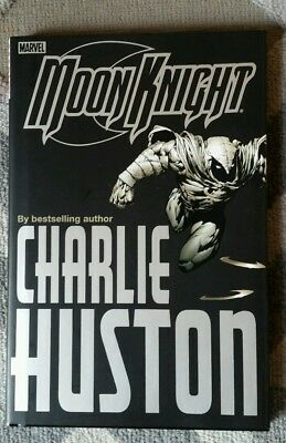 Moon Knight The Bottom Hc 1 Marvel Charlie Huston 2006 1St Print Very Rare Oop