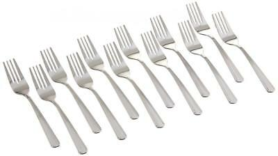 12 Piece Salad Fork Set Dinnerware Stainless Steel For Home Restaurant Catering