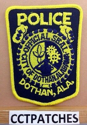 Dothan, Alabama Police Shoulder Patch Al