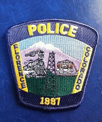Florence, Colorado Police Shoulder Patch Co