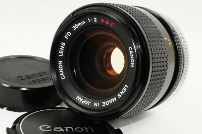 [EXC] Canon FD 35mm f/2 S.S.C. from Japan [71632]