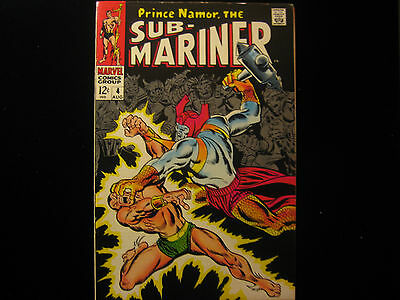 Sub Mariner #4 (1968 1st Series) - MARVEL COMICS