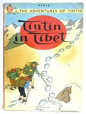 TINTIN IN TIBET ( ADVENTURES OF TINTIN) By Herge *Excellent Condition*