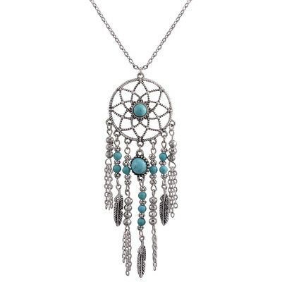 Native American Dreamcatcher Necklace Pendant Beads for Women Free shipping