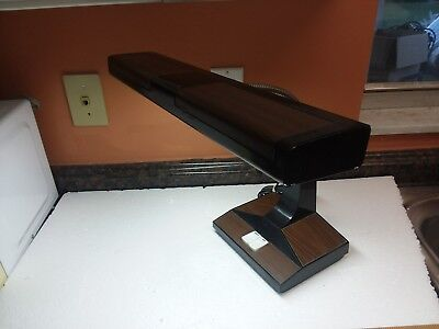 Mid Century Modern Vintage 1979 Inter World Goose Neck Retro Desk Lamp Model 402
