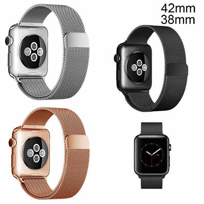 Stainless Steel Wrist Bracelet Strap Watch Band for Apple Watch iWatch 42mm/38mm