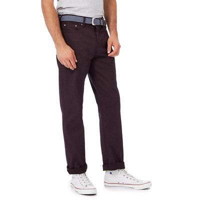 Racing Green Brown 5 Pocket Trousers (RG-BWN-04)