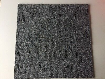 Bargain-200 Blue Interface Carpet Tiles-Heavy Duty-50 Sq. Mtrs-Good Condition