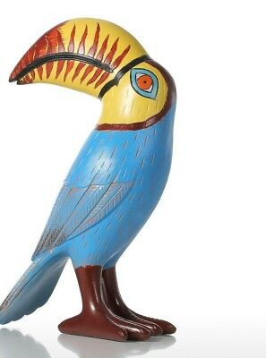 Big Mouth Toucan Bird Resin Sculpture Fiberglass Ornament Home Decor Statue Art