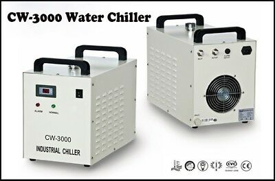 S&A AC220V Thermolysis Industrial Water Chiller CW-3000AF for 800W/1.5KW Spindle