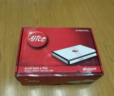 Modem alice gate 2 plus NON wi-fi