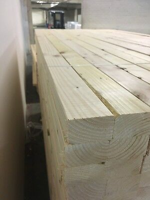 Timber 3X2 Planed Easy Edge 75X47 3 X 2.4M Lengths Next Day Delivery!