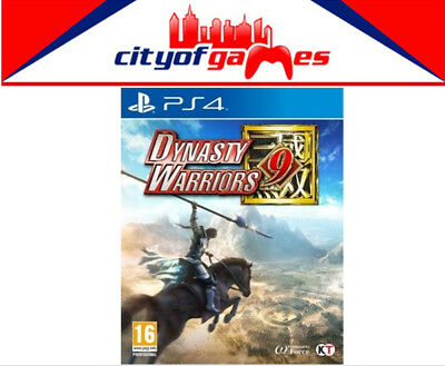 Dynasty Warriors 9 PS4 Game New & Sealed Free Express Post In Stock