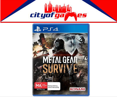 Metal Gear Survive PS4 Game New & Sealed Free Express Post Pre Order