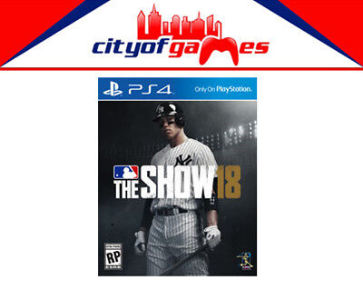 MLB The Show 18 PS4 Game New & Sealed In Stock