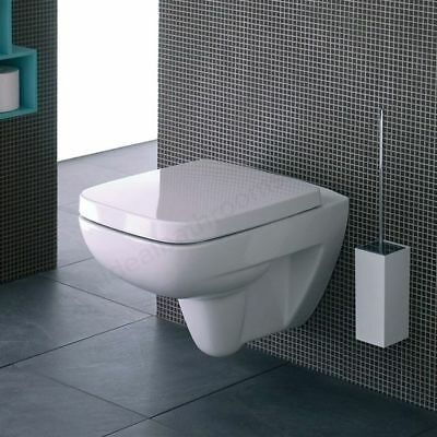 Twyford GALERIE PLAN Wall Hung Toilet Pan, Horizontal Outlet