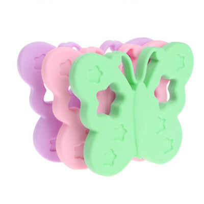 BPA Free Silicone Baby Butterfly Teether DIY Chewable Nursing Necklace Jewelry