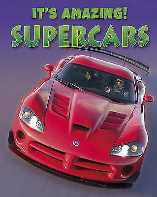 Savery, Annabel, Supercars (It's Amazing), Very Good Book