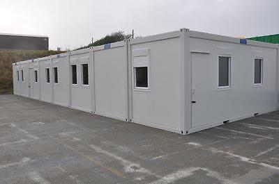 Portable Building New Modular Building 8 Bays 20' x 64' / 6m x 20m Site Office