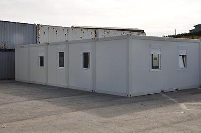 Portable Building New Modular Building 5 Bays 20' x 40' / 6m x 12.5m Site Office