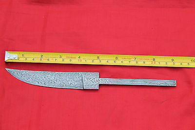 beautiful small fine random damascus steel viking blank blade for making knife 3