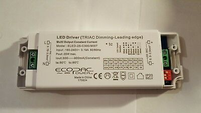 Ecopac Dimmable 50W LED Driver