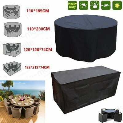 Rattan Furniture Cover Patio Round Day Bed for Large Garden Cube Set All-Size
