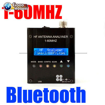 Digital Shortwave Antenna Analyzer MR300 Bluetooth Meter Tester 1-60M Ham Radio