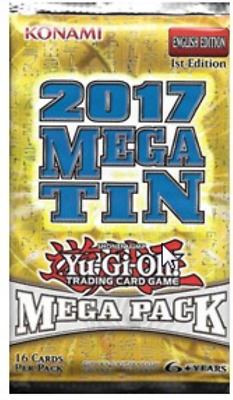 2017 Mega-Tin Mega Pack Booster, Deutsch 1. Auflage, Yugioh!