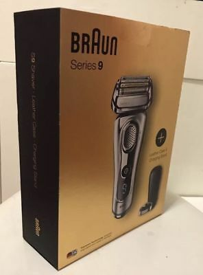 Braun series 9 SILVER 9260s Limited Edition SyncroSonic Rechargeable,LeatherCase