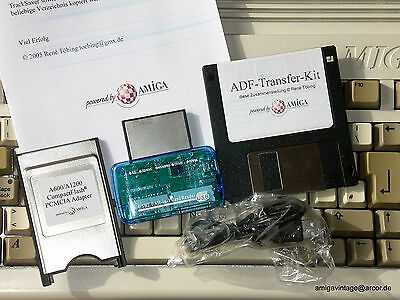 Mega ADF-Transfer-Kit CF PCMCIA Amiga 600/1200 <> PC USB Card Reader