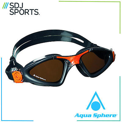 Aqua Sphere Kayenne Polarized UV Anti-Fog Triathlon Swimming Goggles