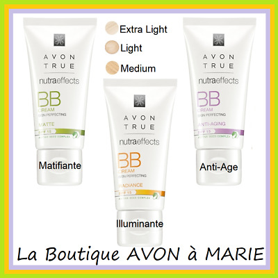 BB Creme Matifiante Couleur Teintée SPF15 Nutra effects AVON